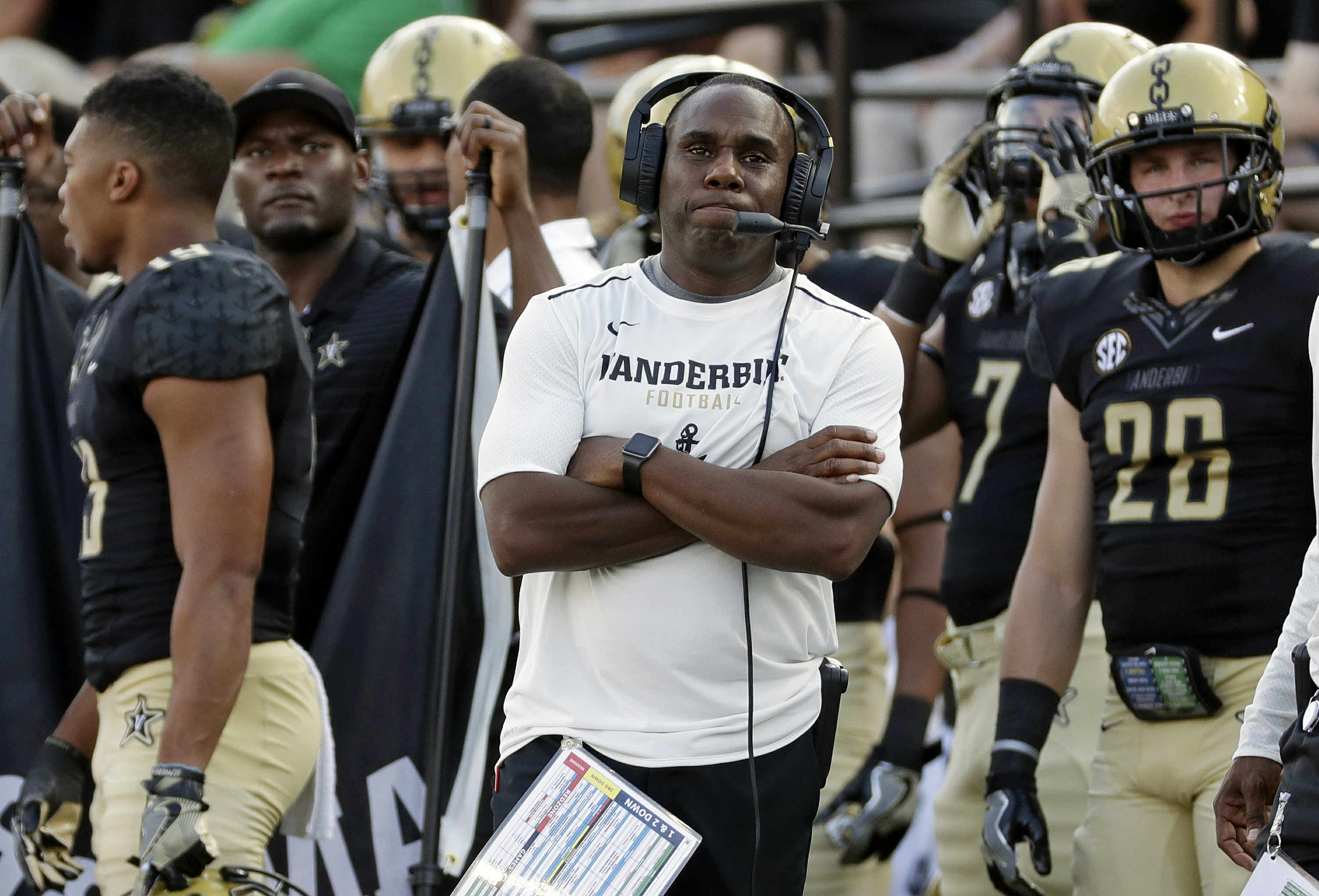 pretty nice 87815 0fa58 Vanderbilt confident prepping for visit to No. 8 Notre Dame