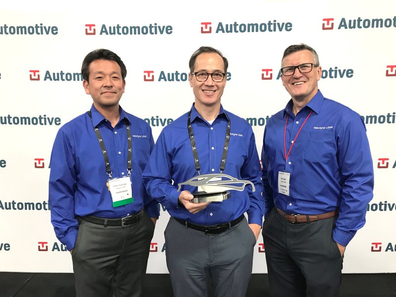 """Velodyne LiDAR Awarded """"Industry Choice Company of the Year"""" at TU-Automotive Detroit Conference"""