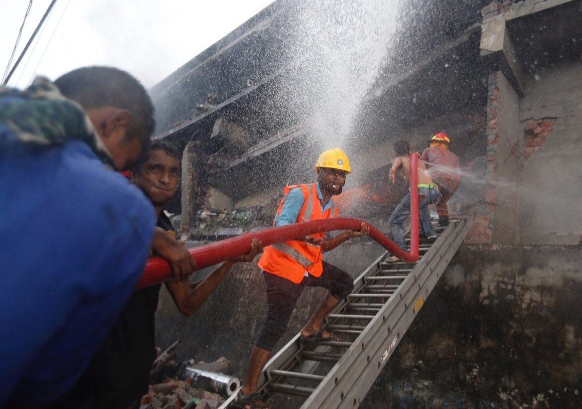 23 dead in explosion and fire at Bangladesh factory