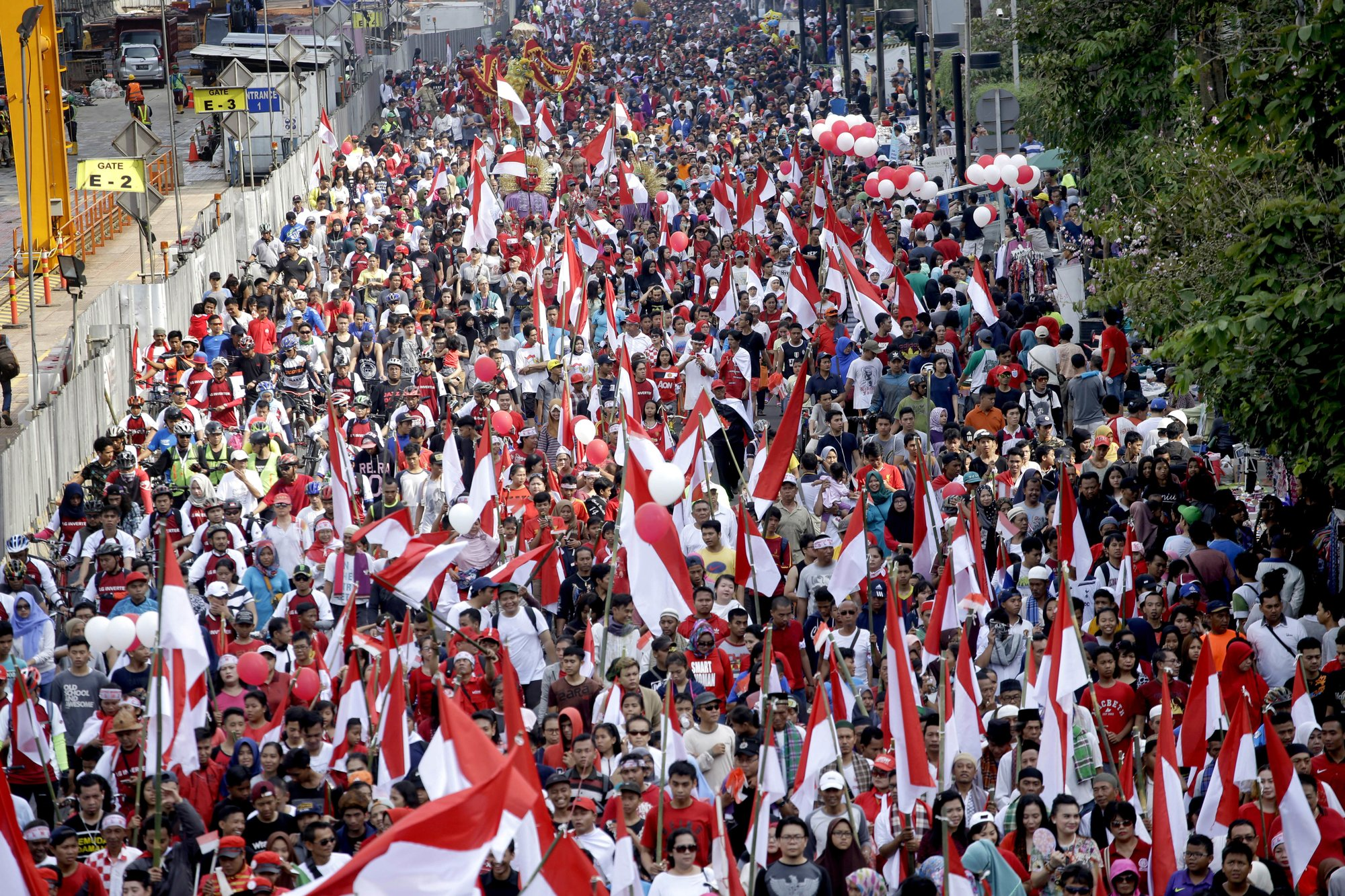 Jakarta rally calls for tolerance after blasphemy probe