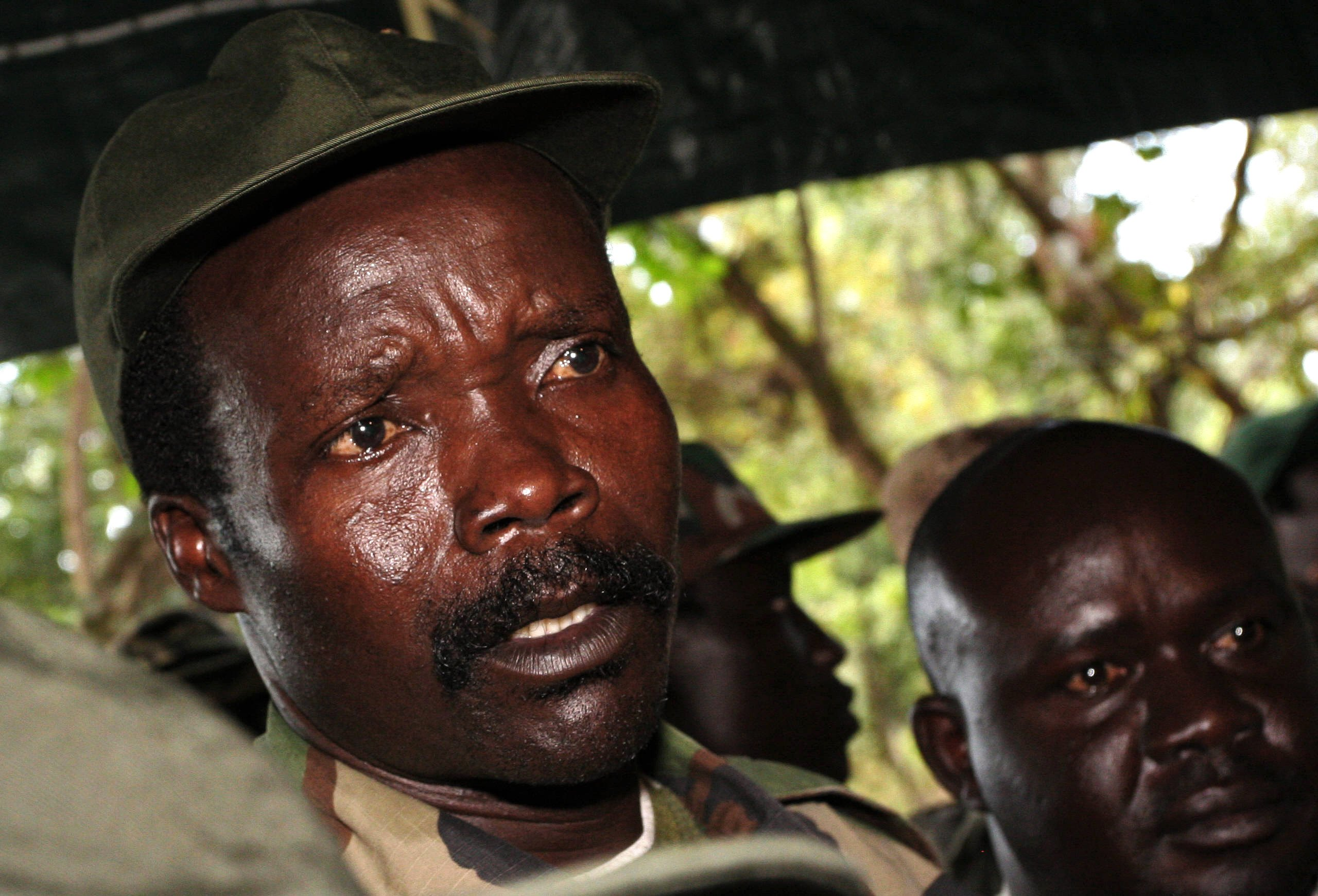 Aide to warlord Kony surrenders as US pulls from mission