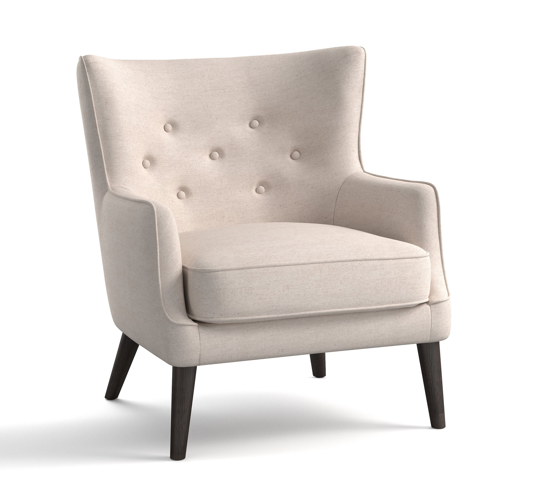 Right At Home Traditional Wing Chairs With Modern Twist