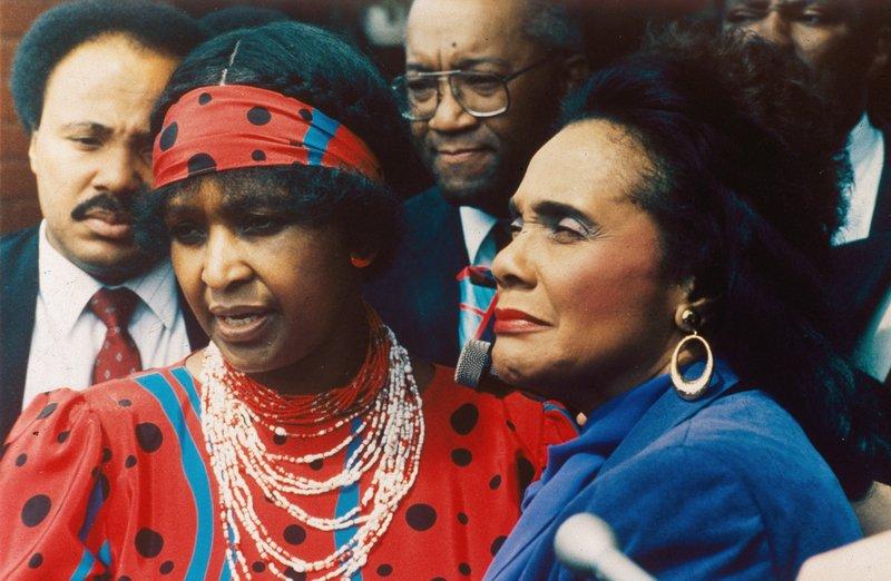 Winnie Madikizela-Mandela, Coretta Scott King