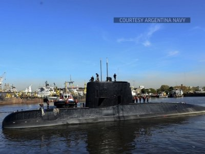 Arg. Navy: Sounds Didn't Come From Missing Sub
