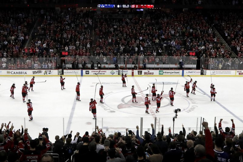 best website dd0ee 73b31 Devils make playoffs for first time since 2012