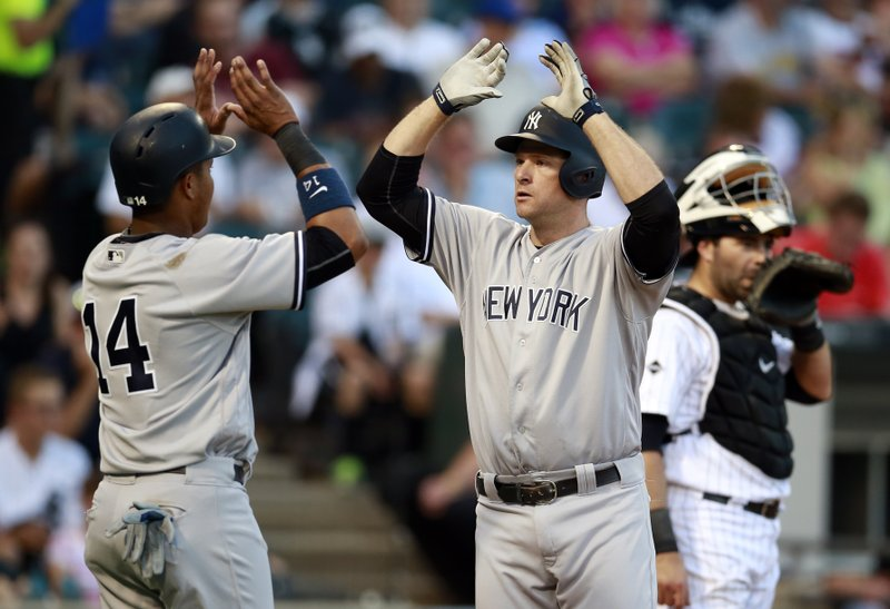 Yankees Get Season High 20 Hits In 9 0 Win Against White Sox