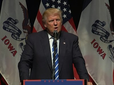 Trump Says Dems Telling 'Lot of Lies' About Him