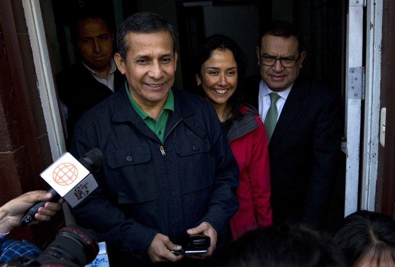 Ollanta Humala,Nadine Heredia
