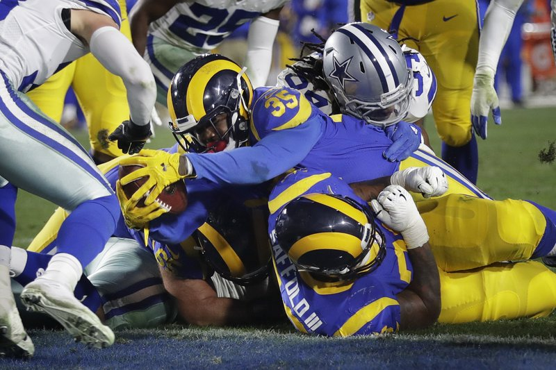 Rams Rush Past Cowboys Advance With 30 22 Playoff Victory