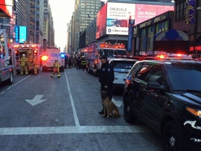 NYPD Responds to Port Authority Explosion Report