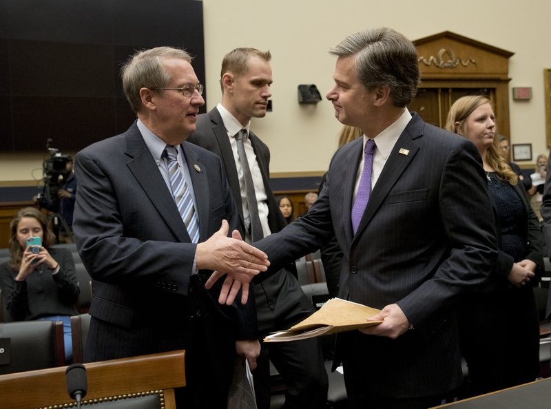 Christopher Wray, Bob Goodlatte