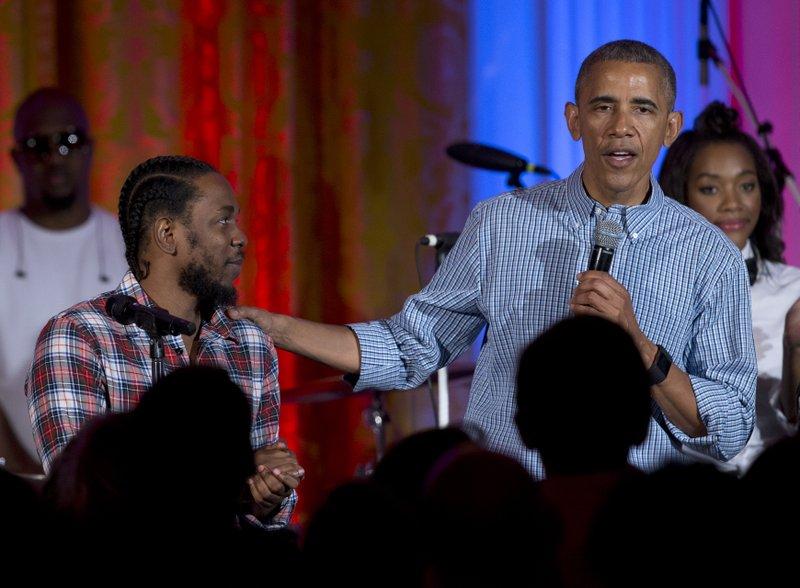 Barack Obama, Kendrick Lamar, Janelle Monae