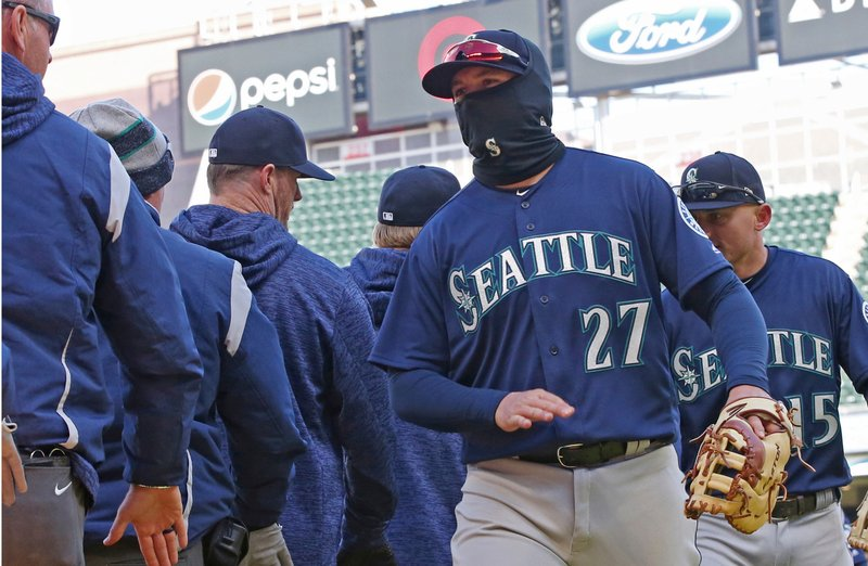 Ryon Healy, Kyle Seager