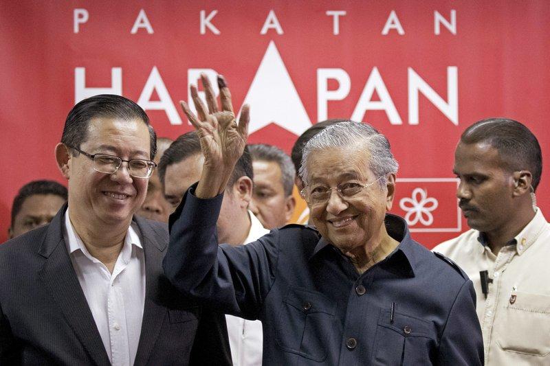Mahathir Mohamad, Lim Guan Eng