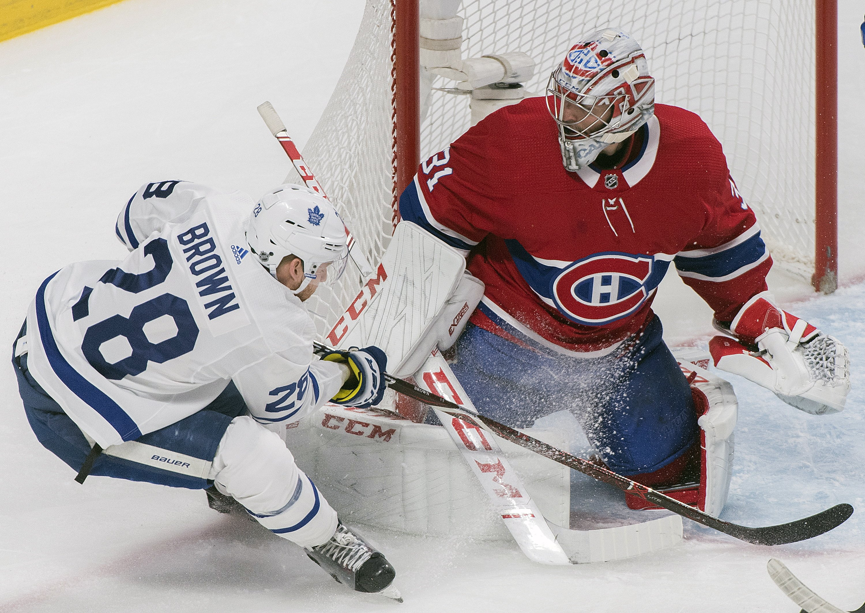 Tavares Scores In Overtime Maple Leafs Stop Canadiens 4 3