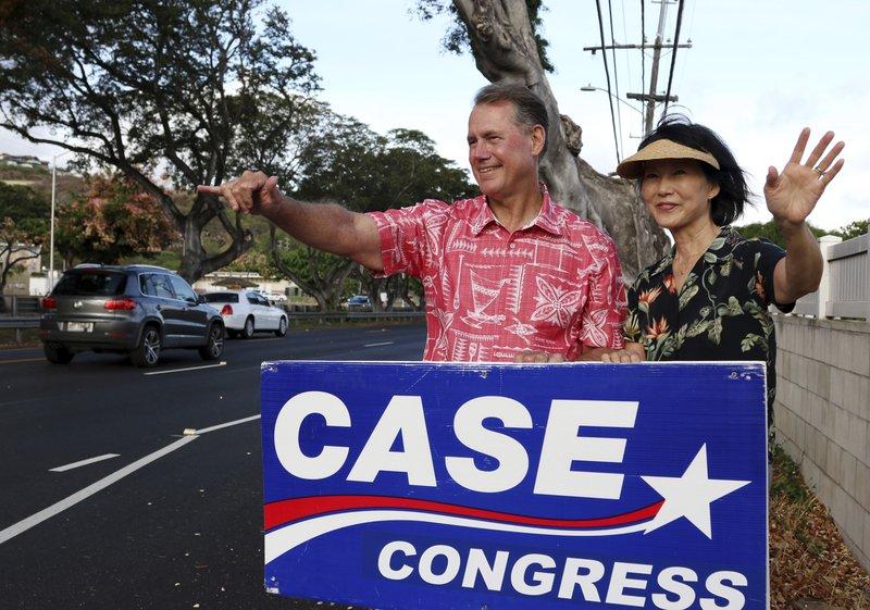 Ed Case, Audrey Case