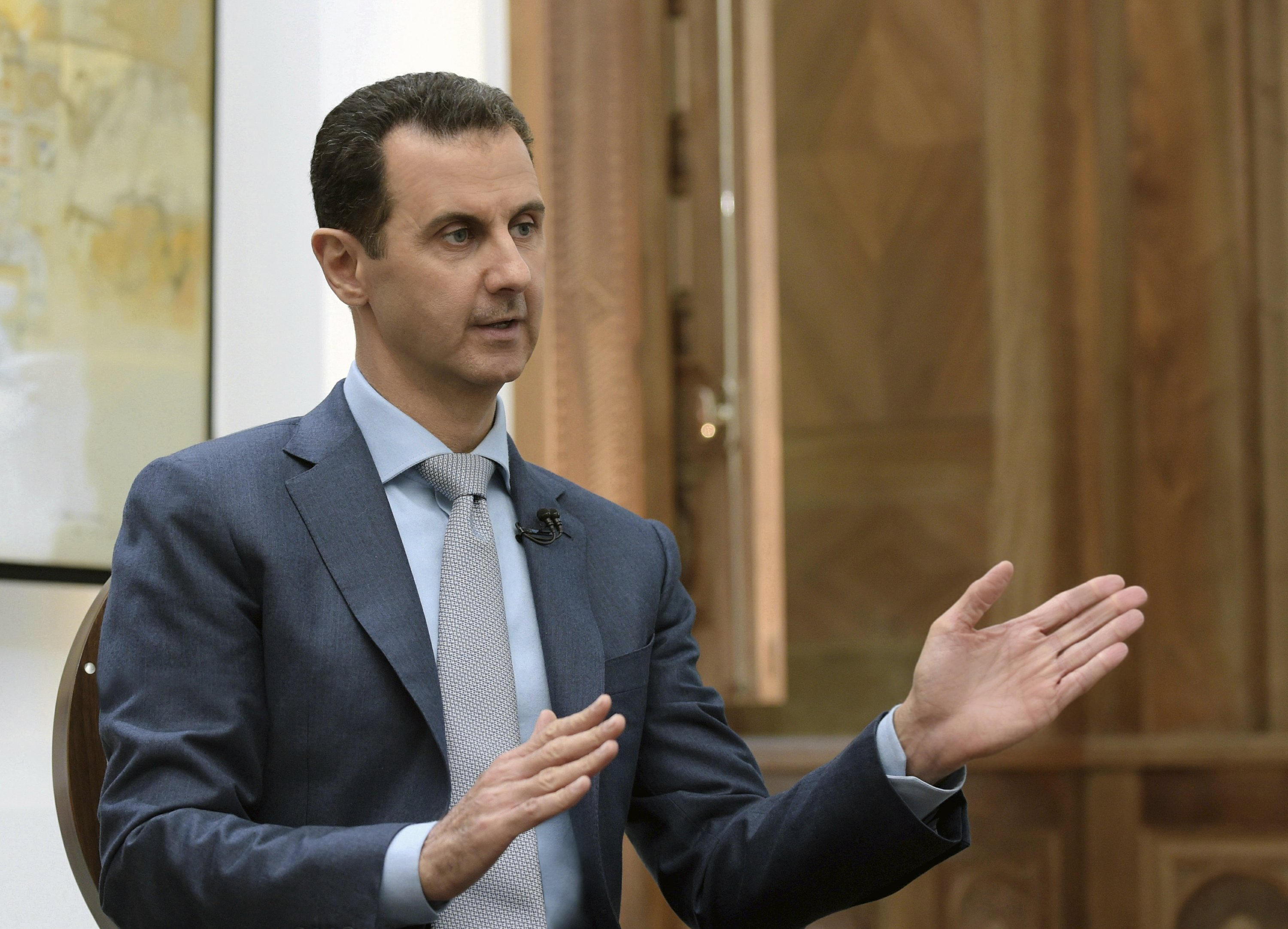 Assad says US troops welcome in Syria to fight 'terrorism'