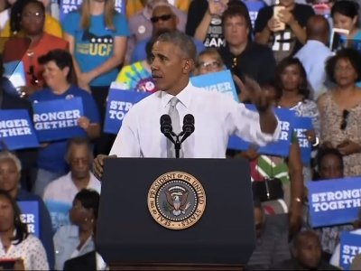 Obama: You Don't See Clinton Whining