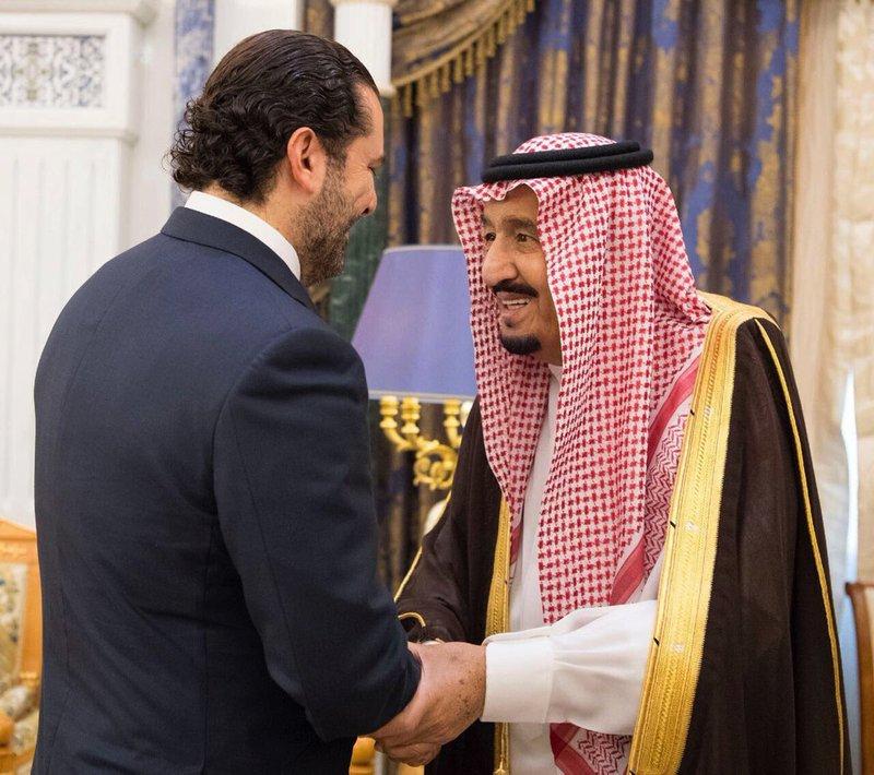 Salman, Saad Hariri