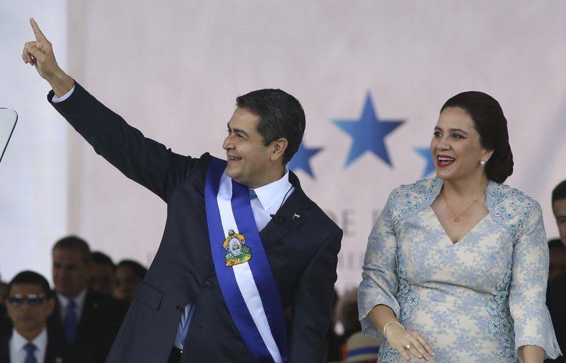Juan Orlando Hernandez, Ana Garcia