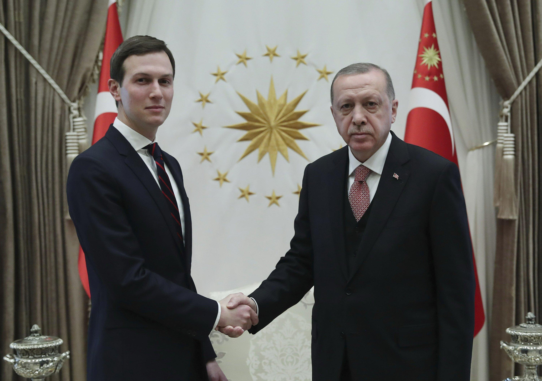 Turkish president holds talks with Jared Kushner