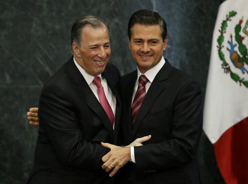 Jose Antonio Meade, Enrique Pena Nieto