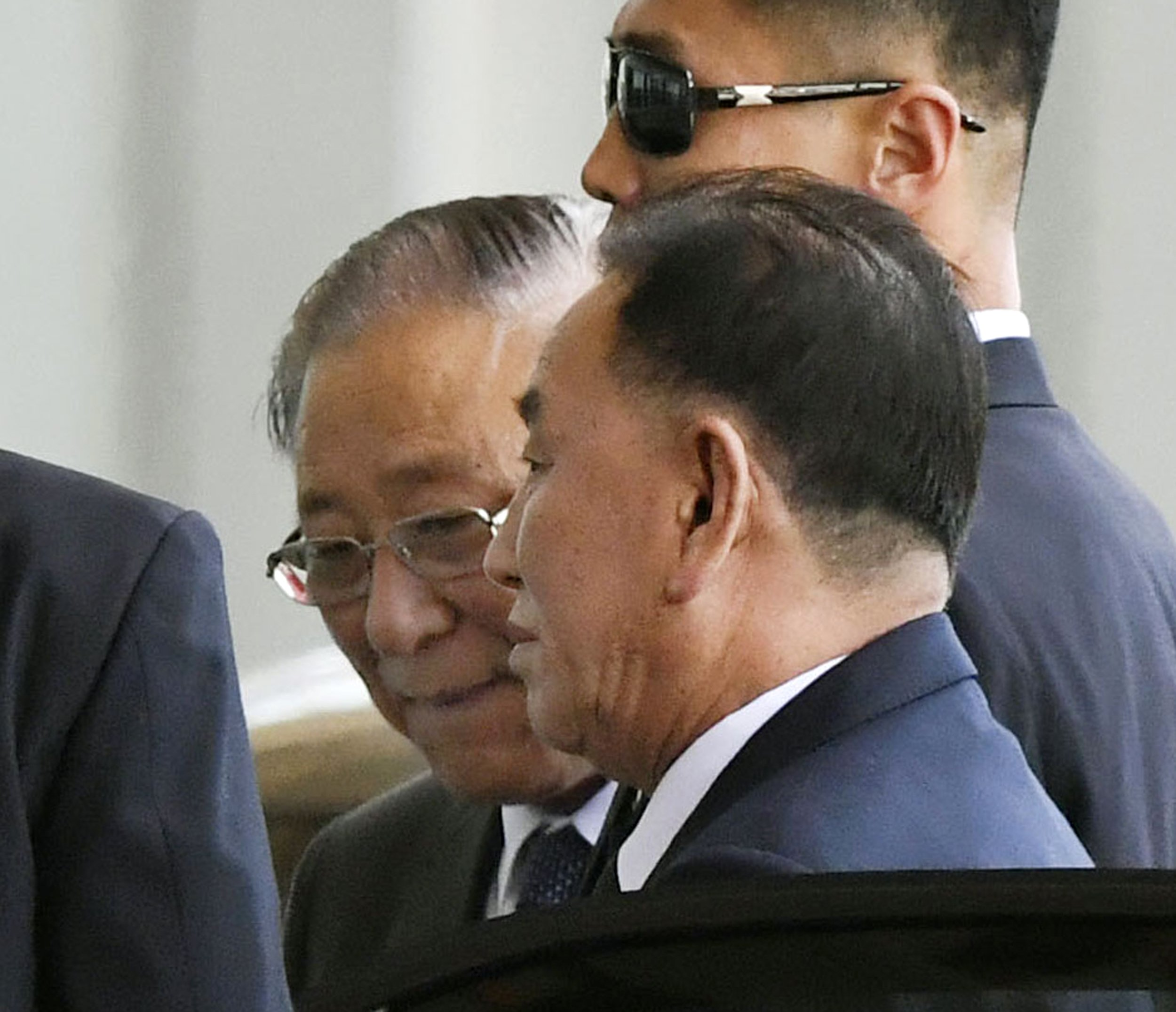 Top North Korean official heads to US for pre-summit talks