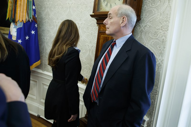 John Kelly, Hope Hicks