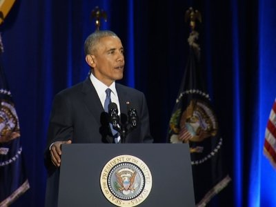 Obama: We Can't 'Retreat into Our Own Bubbles'