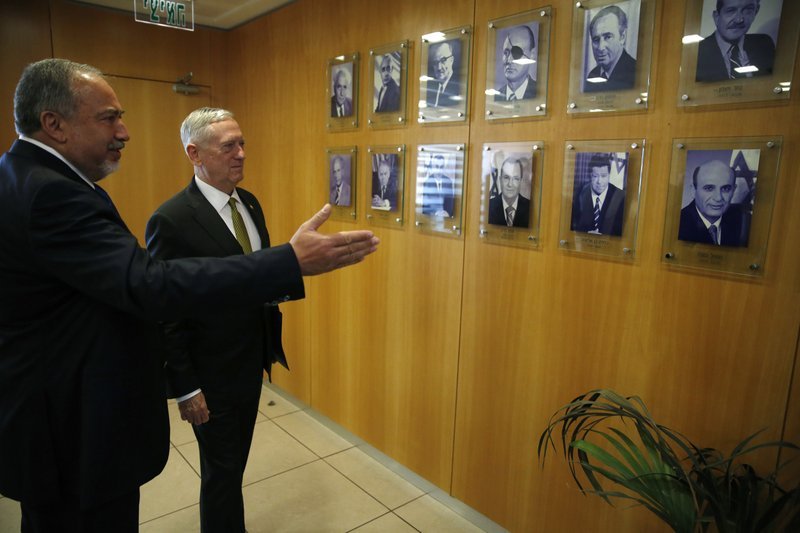 Avigdor Lieberman, Jim Mattis