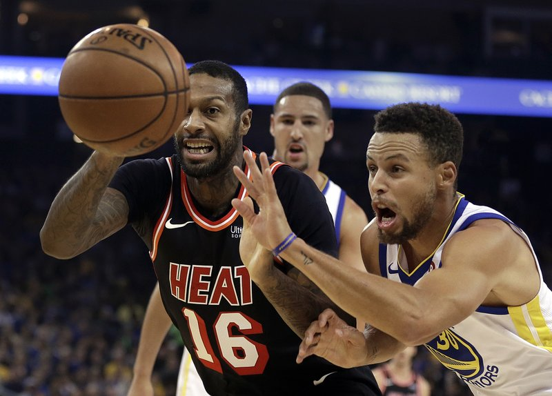 Stephen Curry, James Johnson