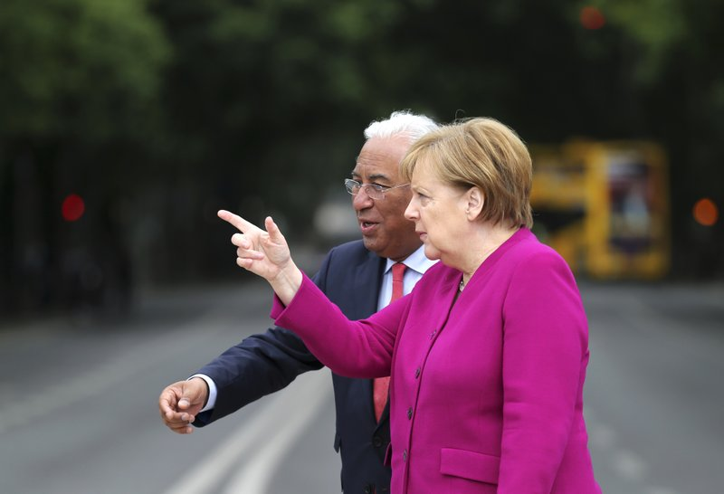 Angela Merkel, Antonio Costa