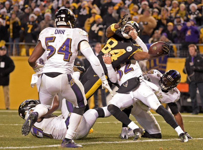 54686b7f864 Steelers win AFC North after rallying past Ravens 31-27