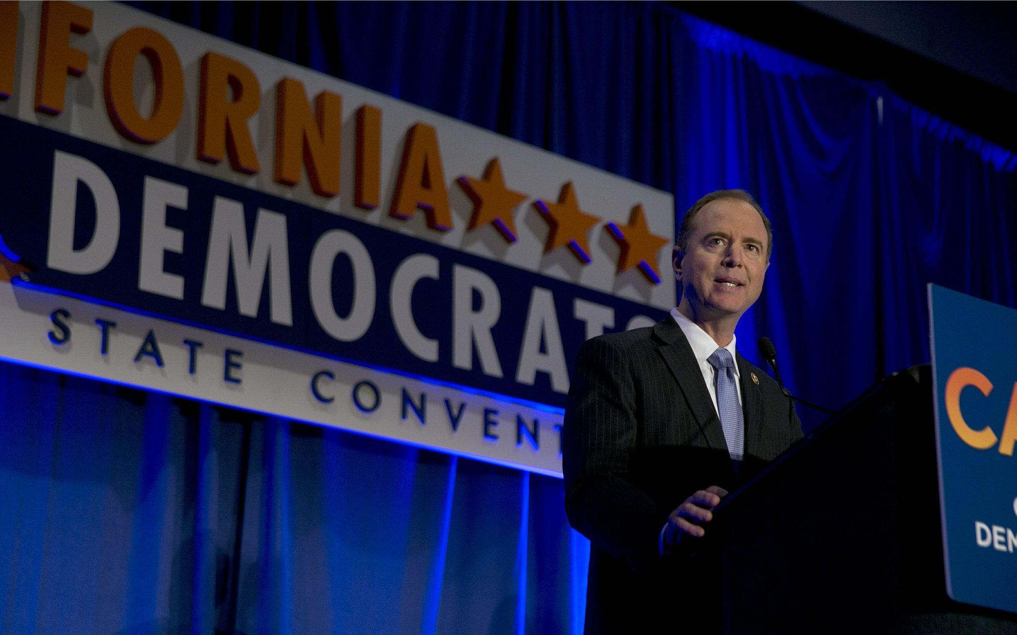 California Democrats take aim at Trump, GOP Congress