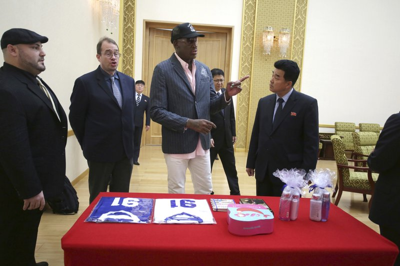 Dennis Rodman, Kim Il Guk, Joseph Terwillige