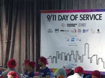 Americans Mark 9/11 With Volunteer Projects