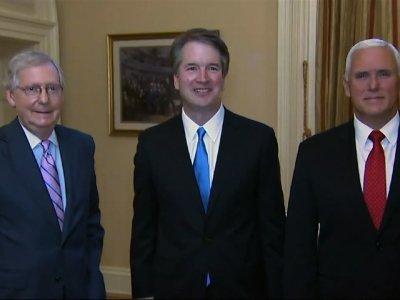 SCOTUS Nominee Kavanaugh Visits Capitol Hill