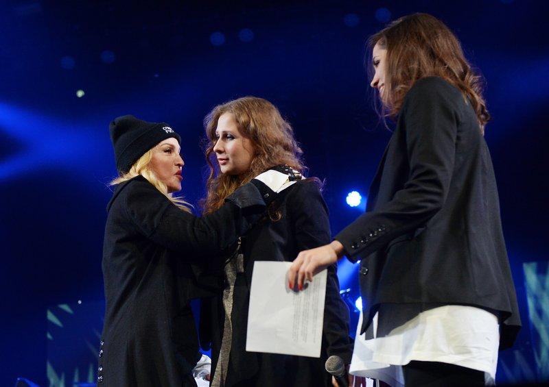 Madonna, Maria Alekhina, Nadezhda Tolokonnikova