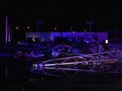 Raw: Possible Tornado Strikes NE Pennsylvania