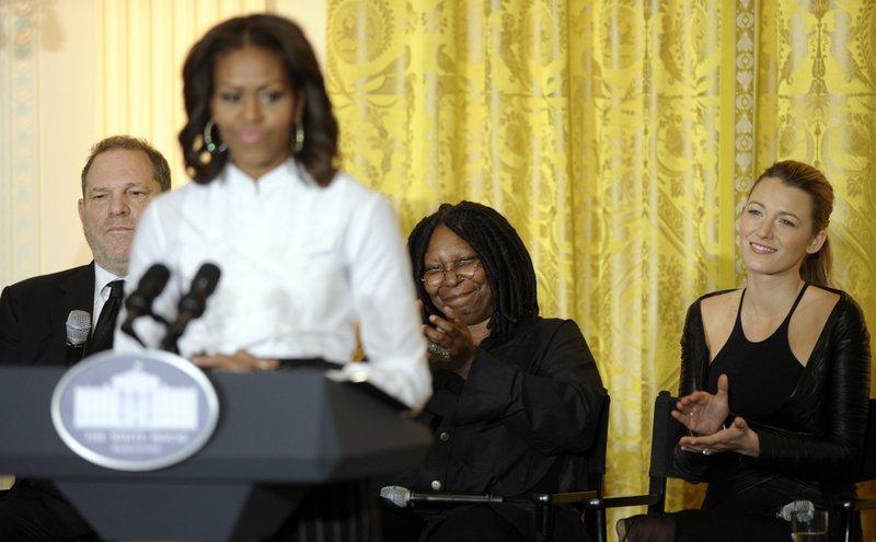 Michelle Obama, Harvey Weinstein, Whoopie Goldberg, Blake Lively