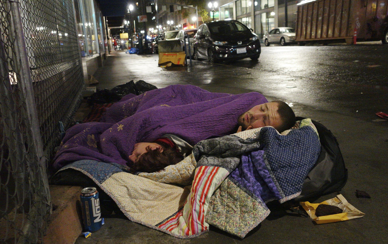 Amid booming economy, homelessness soars on US West Coast