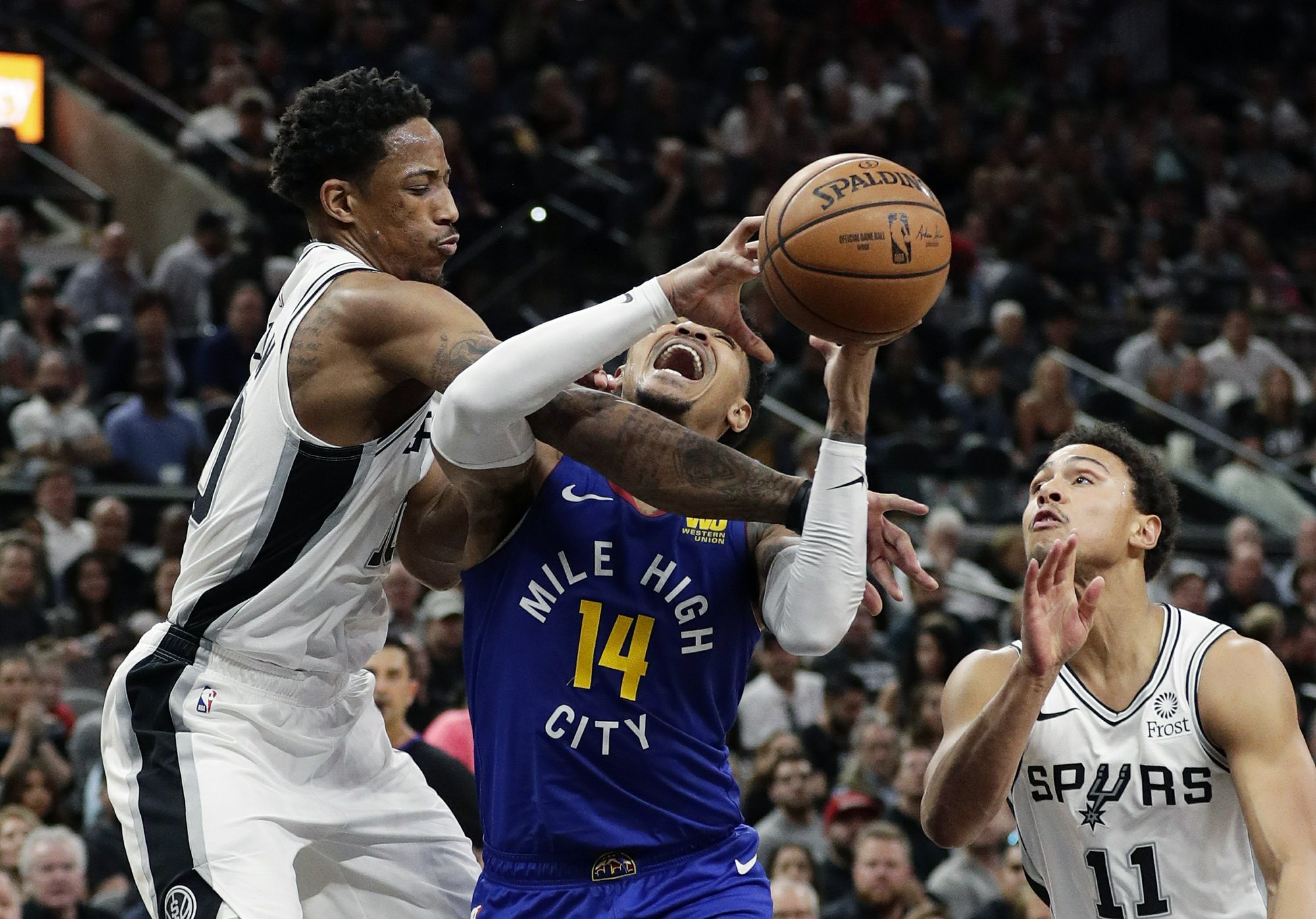 Spurs force Game 7 with 120-103 win over Nuggets