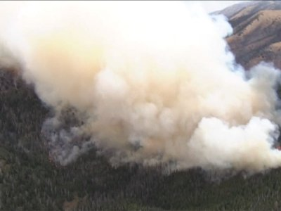 Massive Wildfires Burning Across Western States