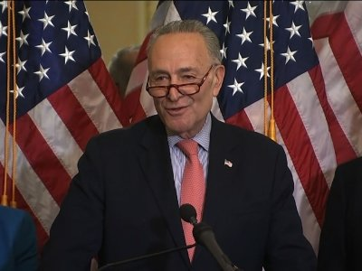 Schumer: Trump Should Lead and Unite
