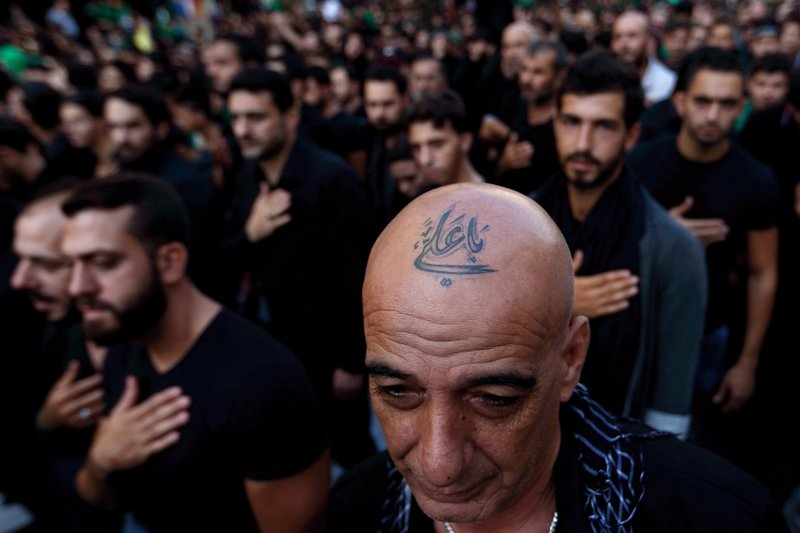 Ap Photos Shiite Tattoos A Show Of Pride Amid Tensions