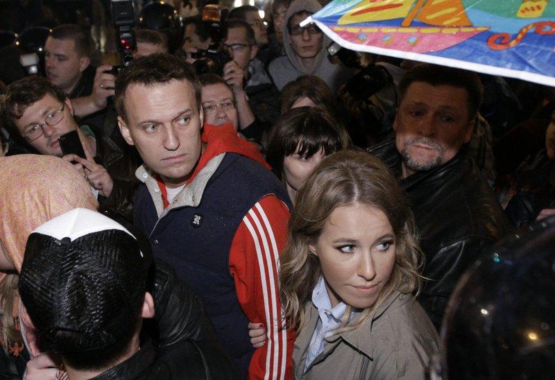 Alexei Navalny, Kseniya Sobchak
