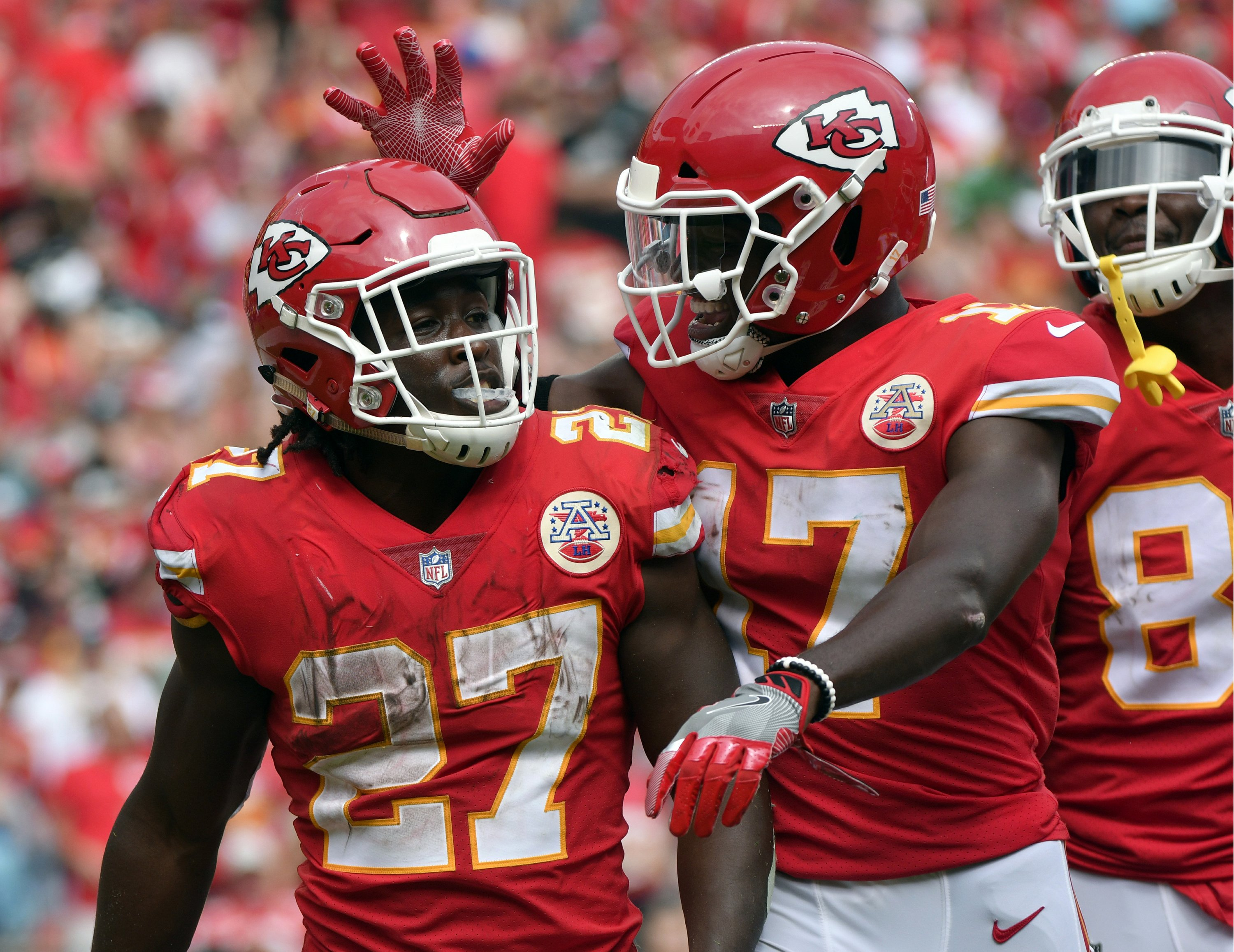 various colors c7c7e 6bab2 Chiefs' Kareem Hunt has clear request: 'Stop sleeping on me'