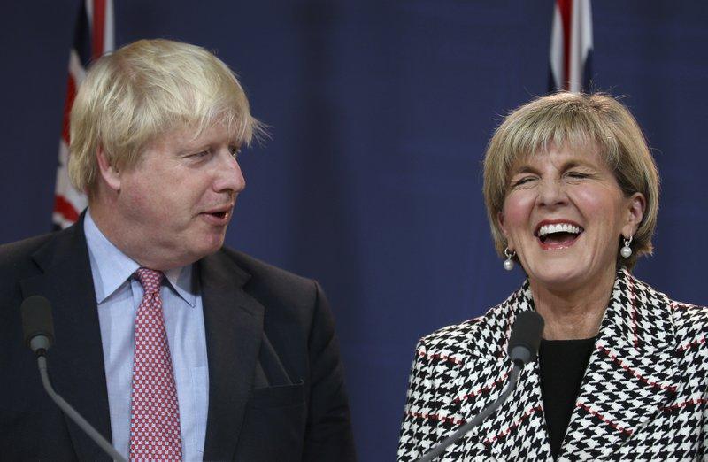 Boris Johnson, Julie Bishop