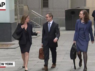 Stormy Daniels' Lawyer Meets Trump's Lawyer