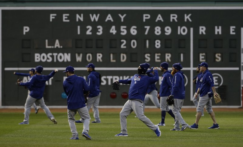 World Series Game 1 to be cold one for Dodgers, Red Sox
